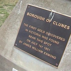 Site of first gold discovery in Victoria