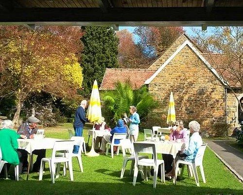 Tea Garden at St Luke's Anglican Church, Howick