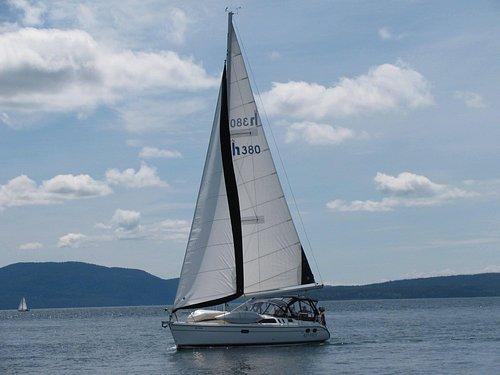 sailing the Georgia strait!