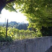 Vista dalla strada, via Mezzavilla