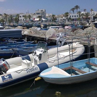 The Marina with the Sub Way RIB