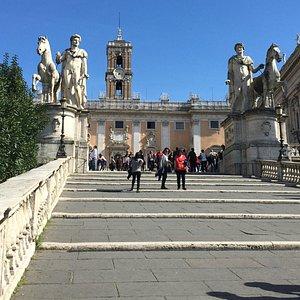 Cordonata in Rome
