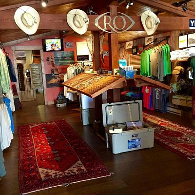 Interior view of Trout Stalkers Fly Shop - Ennis, MT