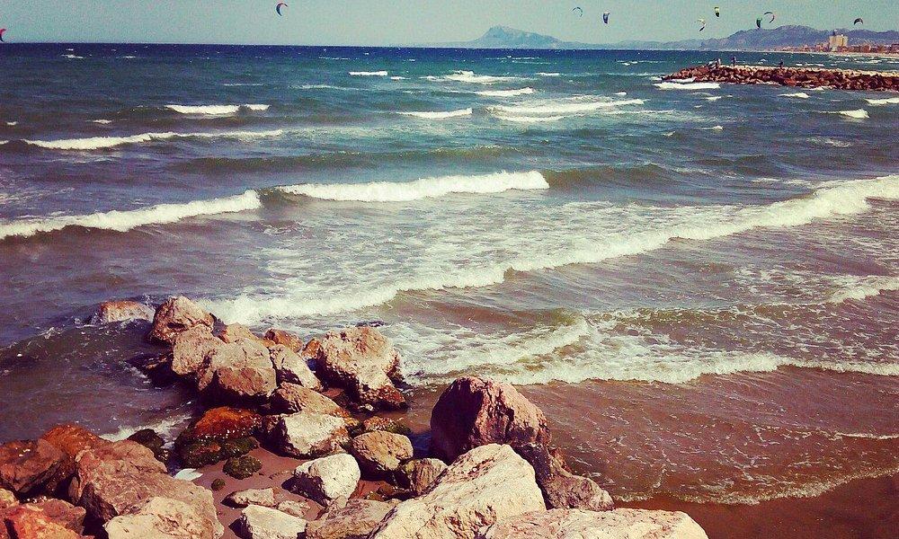 Los rinconcitos mas bonitos de la playa de Gandia, puerto, L'Alqueria del Duc, playa de Venecia.