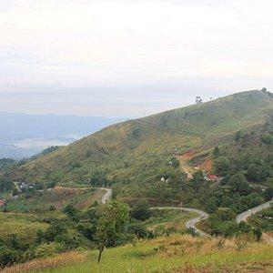 On the peak of Doi Pha Tang
