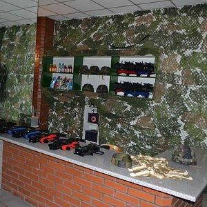 nasz sprzęt - repliki pistoletów maszynowych MP7