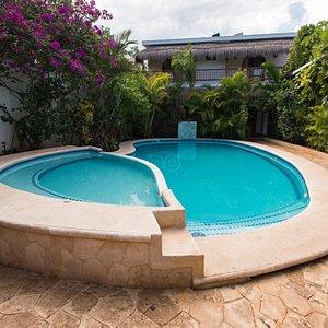 The Pool at the Posada Yum Kin
