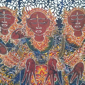 My batik painting