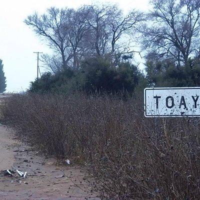 Camino de retorno a Toay desde el Fortín