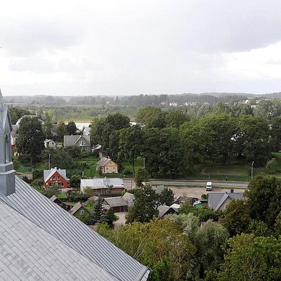View from tower of Church of Apostle Evangelist St. Matthew
