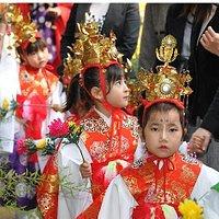 November festival procession