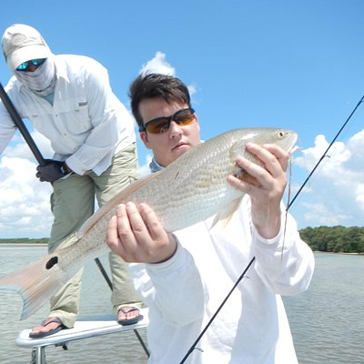 Fishing the flats for redfish