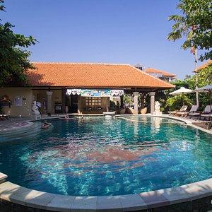 The Pool at the Adhi Jaya Hotel