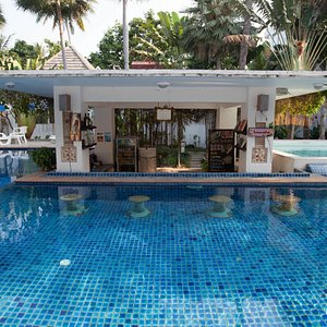Pool Bar at the Koh Tao Montra Resort & Spa
