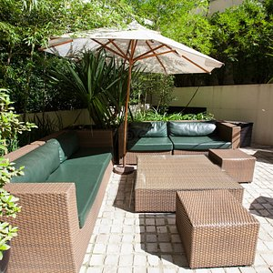 Garden at the Royal Jardins Hotel
