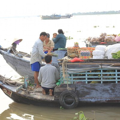 floating market cai be