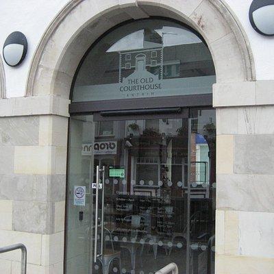 One entrance