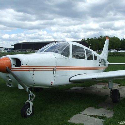 One of MAK Aviation's aircraft: a Piper Cherokee Warrior II