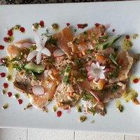 terre et mer saumon et foie gras
