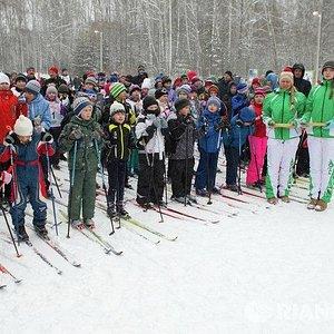 Лыжная база СФУ Красноярск