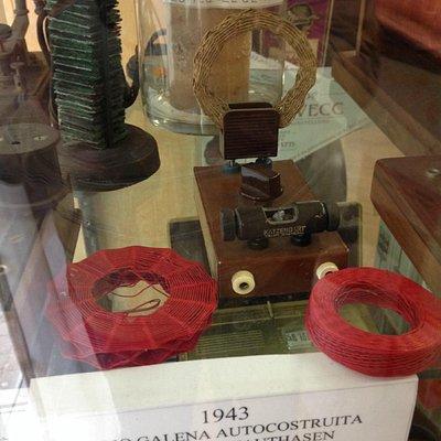 radio autocostruita da deportato a Mathausen
