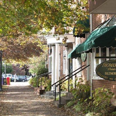 Famous brick sidewalks