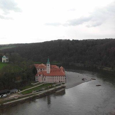 Overlooking the Weltenburg Monastery