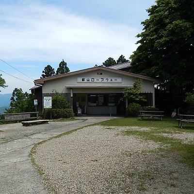 山頂駅から:ロープウェイ乗り場
