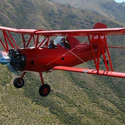 Red Cat Biplane Flights Grumman Ag-Cat aircraft.
