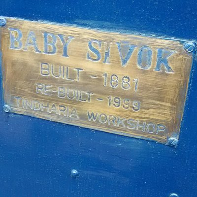 Baby Sivok- Locomotive of 1881