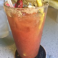 The Bloody Mary! Spicy but seriously delicious :)