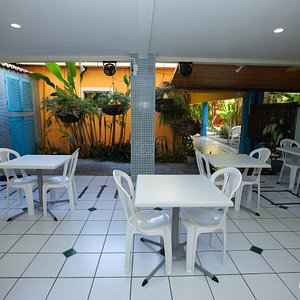 Breakfast Room at the Pousada Portomares
