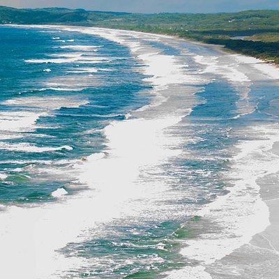 Tallow beach view