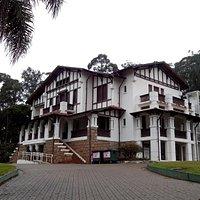 A fachada da Chácara Silvestre restaurada