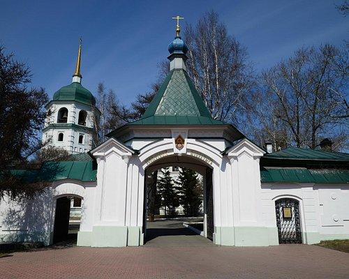 Входные ворота на территорию монастыря