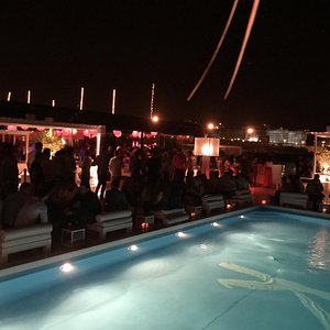 Outside on the waterfront with Pool