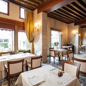 Restaurant at the Hotel Gabrielli