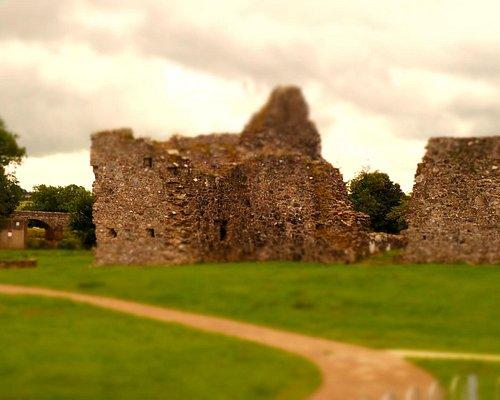 Castlederg Castle ruin @ Castlederg Co Tyrone.