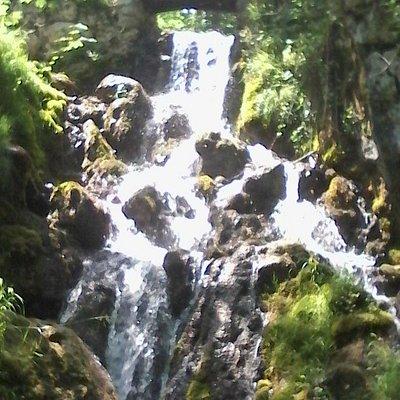 Cascata nel Parco delle fucine, Casto