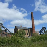 pit head and winding engines