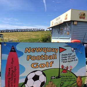 Newquay Football Golf Entrance