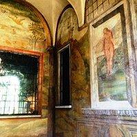 Casa degli Atellani: portico