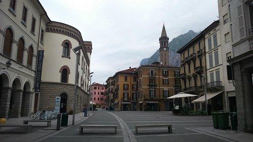 esterno del Palazzo delle Paure di Lecco