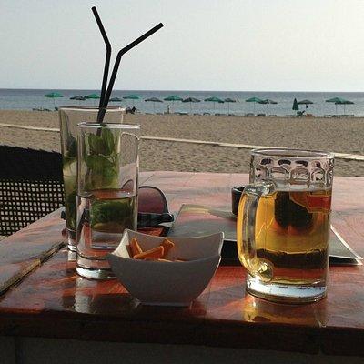 View from Jetée bar