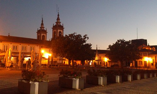 Market Square by night
