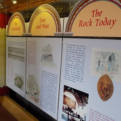 Information is covering the walls of the Museum