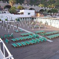Foto scattate presso lo stabilimento balneare Garden Beach di Greco Anna