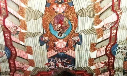 Teto do Convento Franciscano de Cairu