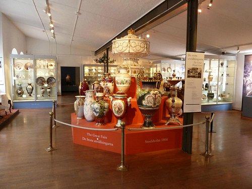 Gustavsbergs Porslinsmuseum - inside