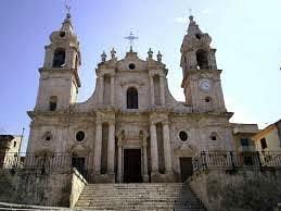 Duomo  di  Palma Montechiaro , città del Gattopardo